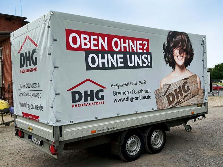 Anhängerbeschriftung Bremen