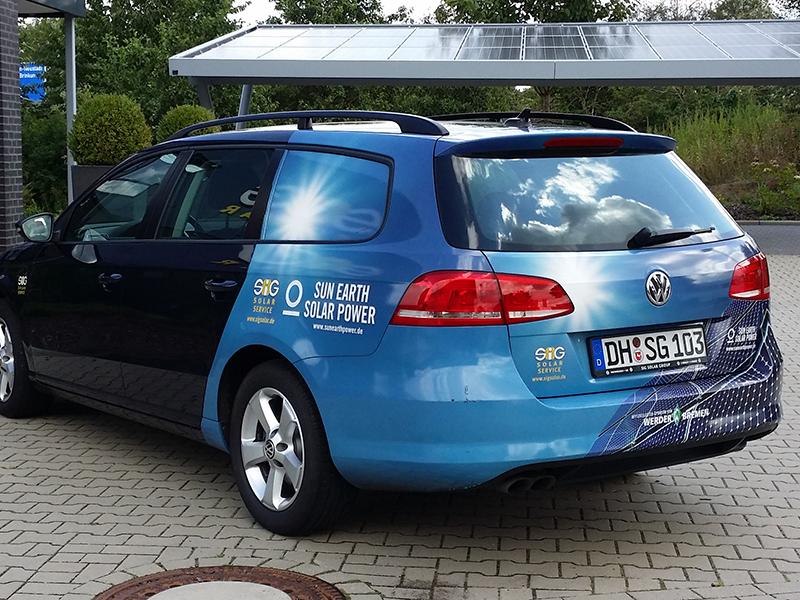 Fahrzeugbeschriftung Bremen